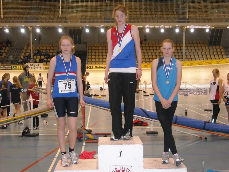 4 medaljer i østdanske indendørsmesterskaber for ungdom | Trongårdens IF